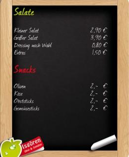 Salate & Snacks